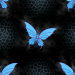 Design - Butteflys Blue Dream - by LydiaDeetz, read more about this textile design