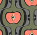 Design - Apfel klein - by Barbara Burda, read more about this textile design