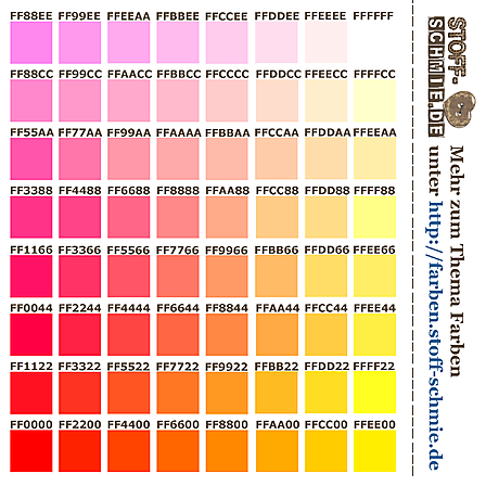 Stoff-Design - Farben als Test-Stoff VI